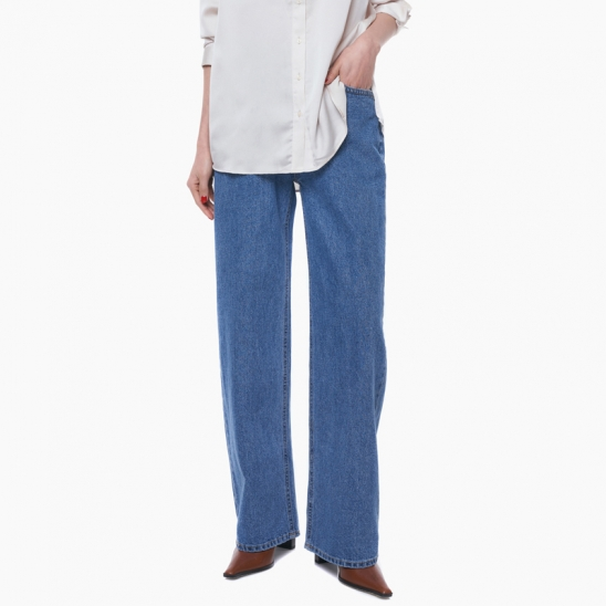LW120 CONTEMPORARY WIDE JEANS_BLUE