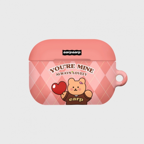 You are mine covy-pink(Hard air pods pro)