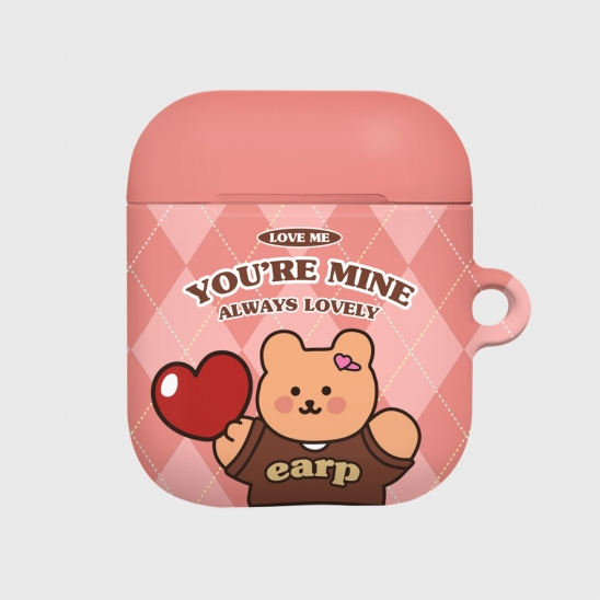 You are mine covy-pink(Hard air pods)