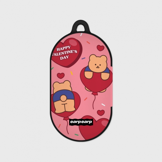 Balloon covy-pink(Buds hard case)