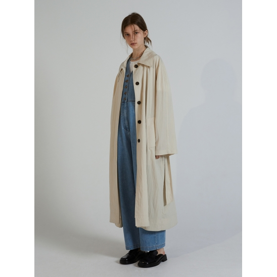 NATURAL TRENCH COAT_BEIGE