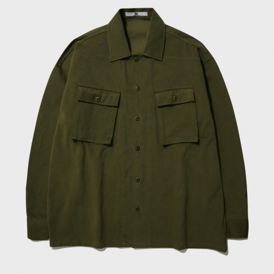 MULTI POCKET FATIGUE JACKET_KHAKI
