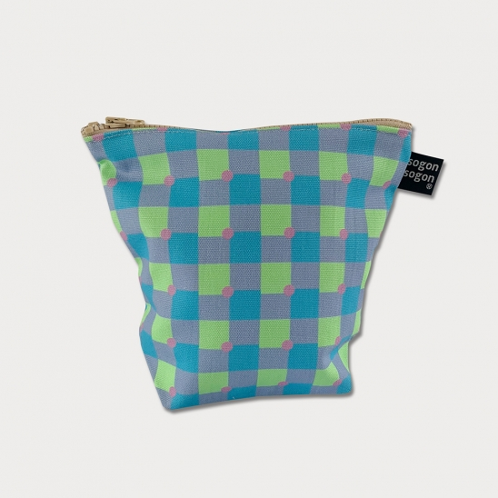 holiday violet pouch