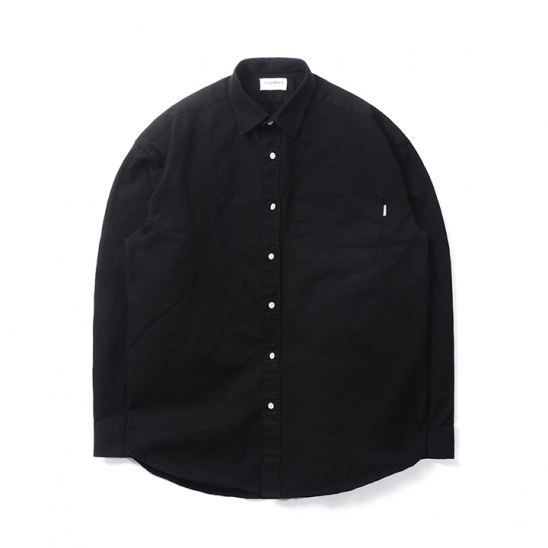 DA Cotton Oversize Shirt (Black)