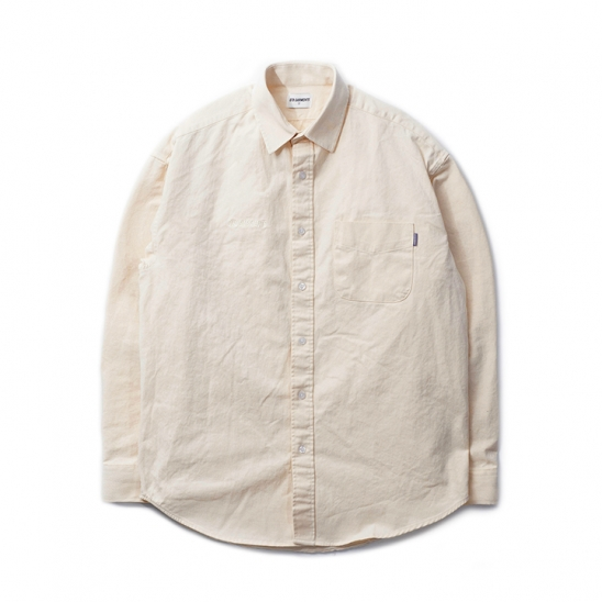 DA Cotton Oversize Shirt (Oatmeal)