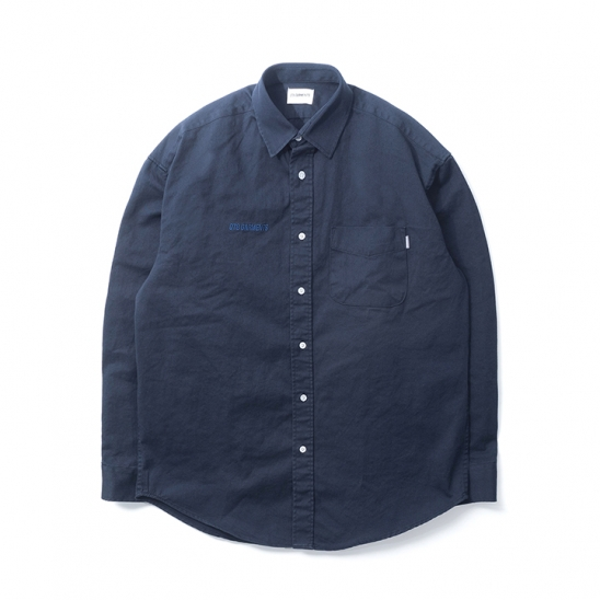 DA Cotton Oversize Shirt (Navy)