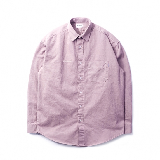 DA Cotton Oversize Shirt (Light Purple)