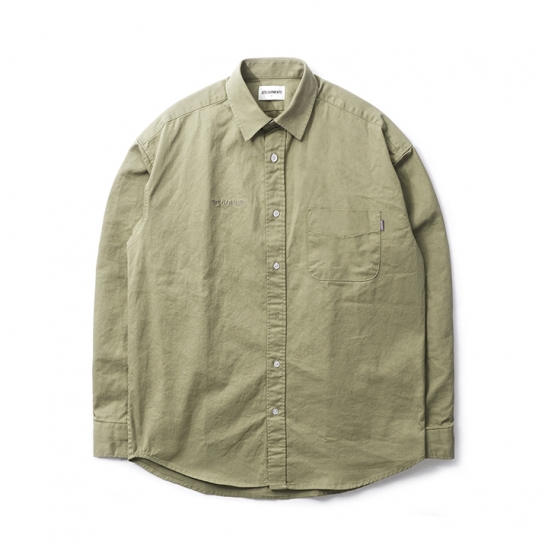 DA Cotton Oversize Shirt (Khaki)
