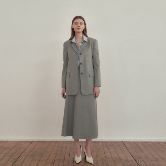 Tailored Setup suit - Gray