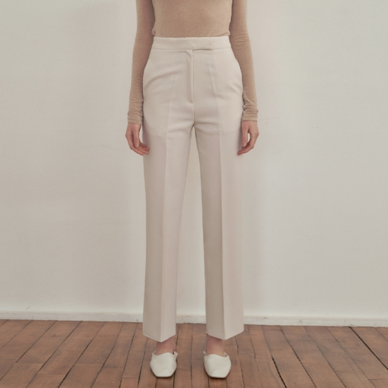 Hidden slim Slacks - Ivory