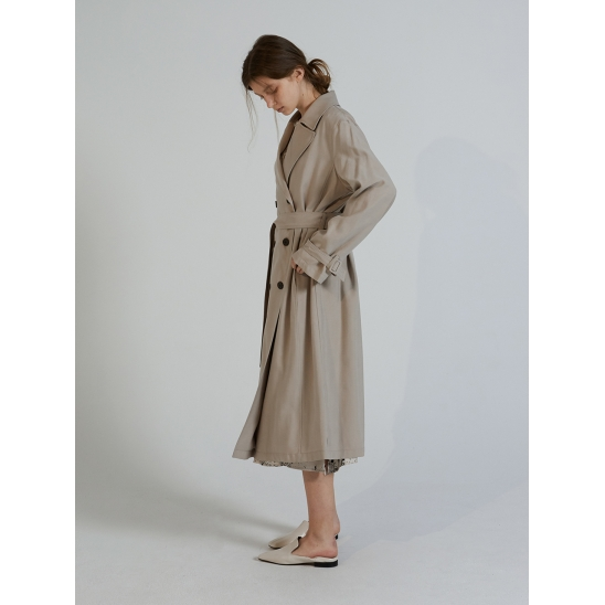 BASIC TRENCH CT_BEIGE