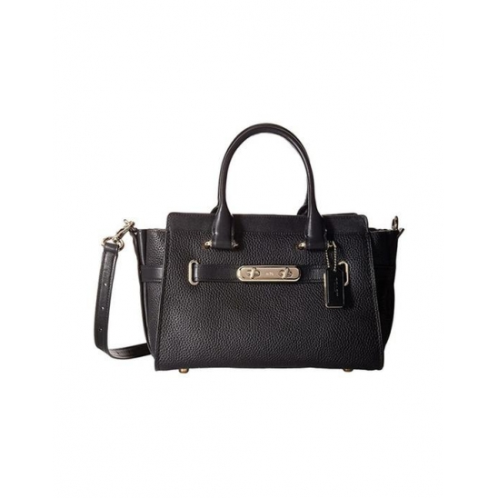 코치 Coach Swagger Carryall 27 In LI Black