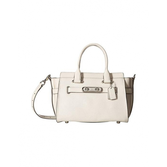 코치 Coach Swagger Carryall 27 In SV Chalk