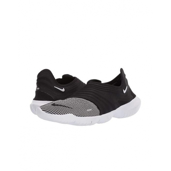 나이키 남성 Free RN Flyknit 3.0 Black White Vol