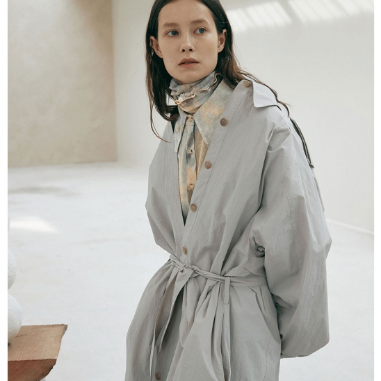Giselle trench coat
