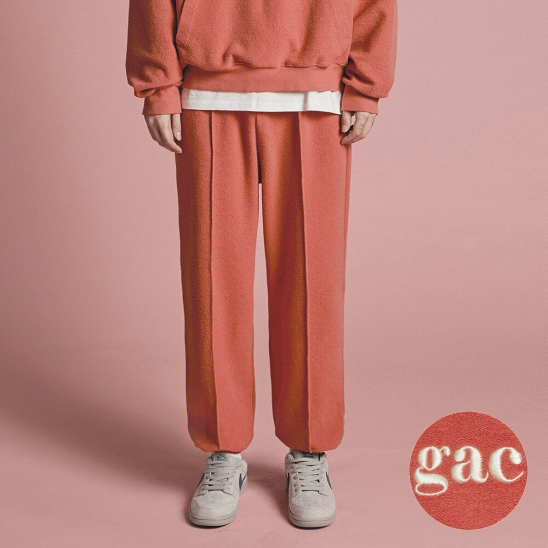 GROUND JOGGER PANTS coral