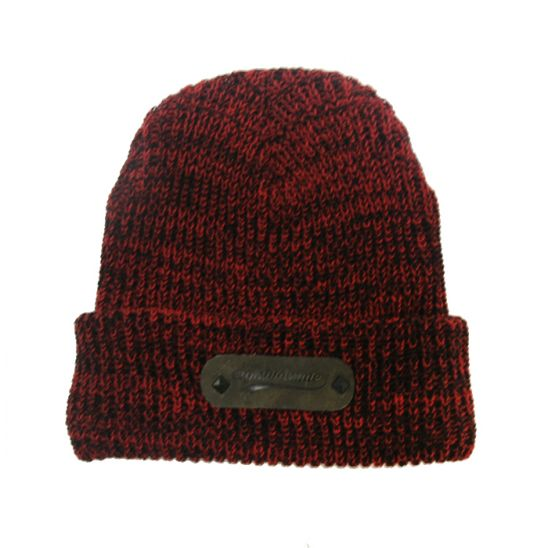 [에잇볼륨] EV Boca Leather Beanie (Red)