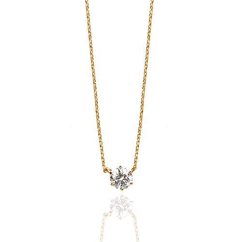 square cubic necklace N012