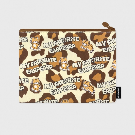 Tiger joie-brown(파우치)(L)