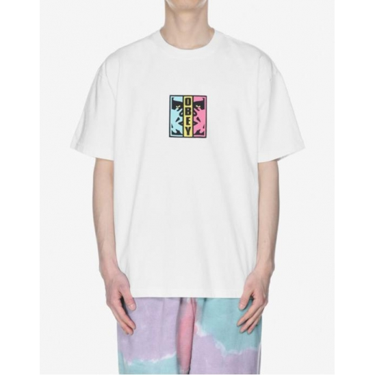 OBEY DIVIDED WHITE