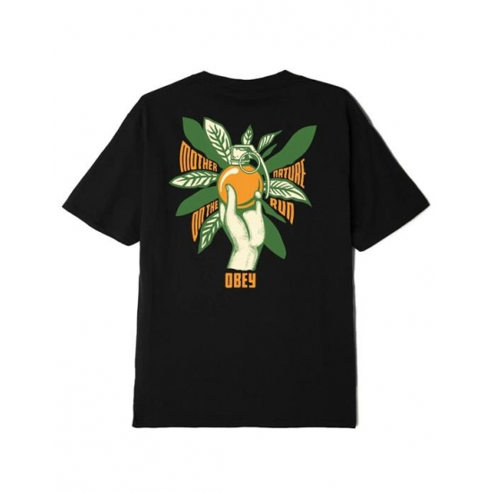 MOTHER NATURE ON THE RUN CLASSIC T-SHIRT BLACK