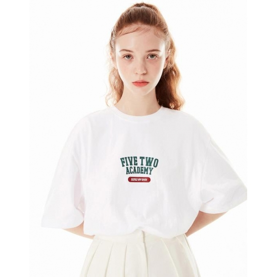 FIVETWO ATHLETIC T-SHIRTS [WHITE]