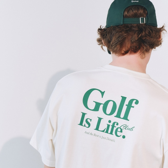 UNISEX SPORTING IS LIFE T-SHIRT BLEACHED CREAM_M_UDTS1E114CR