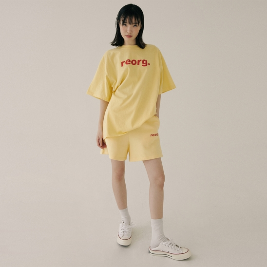 PRINTING T-SHIRTS BUTTER YELLOW