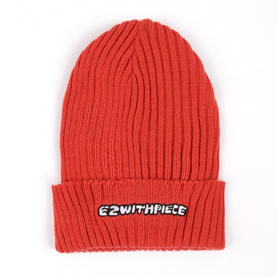 [EZwithPIECE] EWP BEANIE (RED)