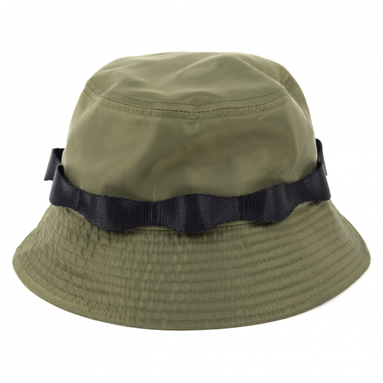 [EZwithPIECE] STRAP BUCKET HAT (OLIVE)