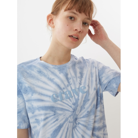 TIE-DYEING T-SHIRTS_BLUE
