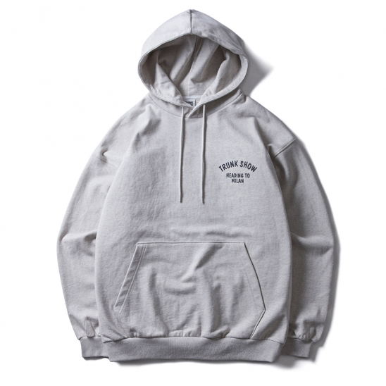 [TRUNK SHOW] HEADING TO MILAN HOODIE (OATMEAL)