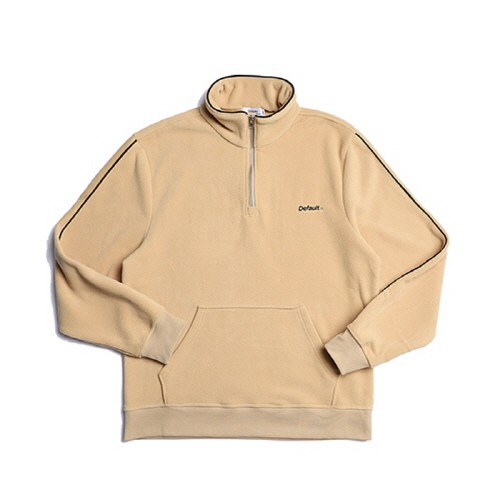 디폴트 NMPS HALF ZIP-UP FLEECE(BEIGE)