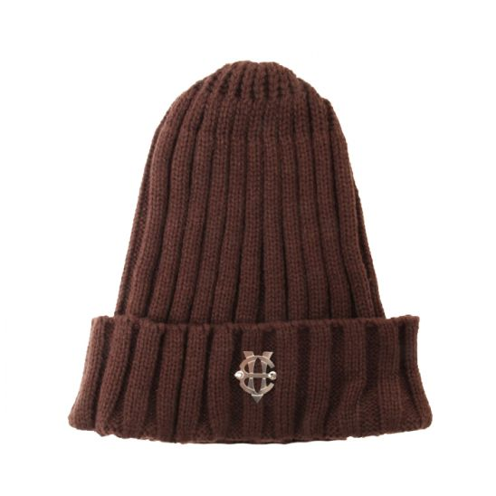 [에잇볼륨]EV Emblem Pop Beanie(Brown)