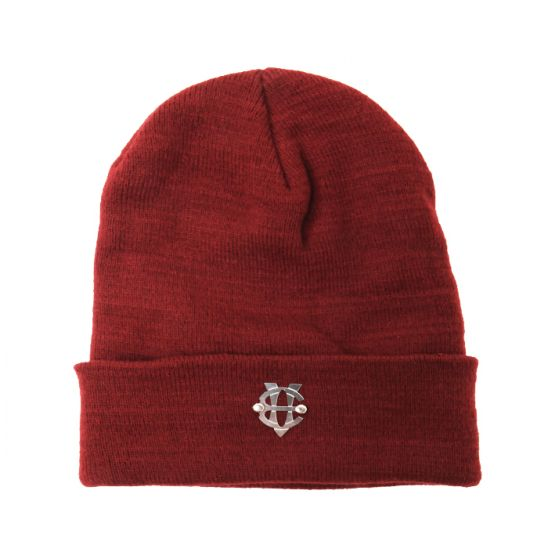 [에잇볼륨]EV Emblem Basic Beanie(Red)