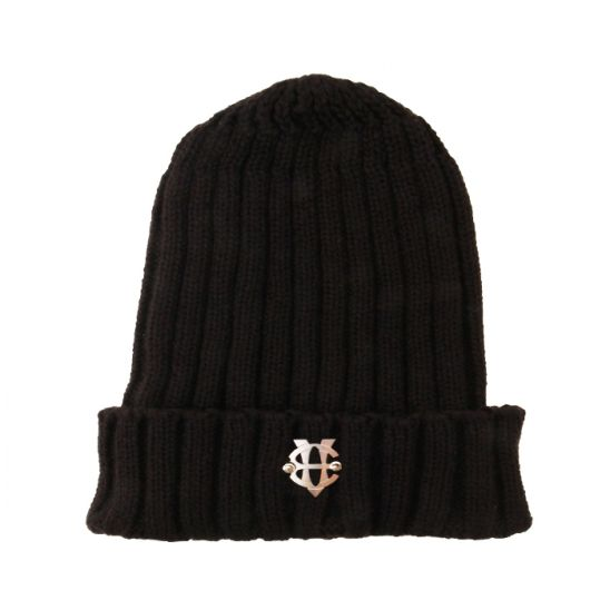 [에잇볼륨]EV Emblem Pop Beanie(Black)
