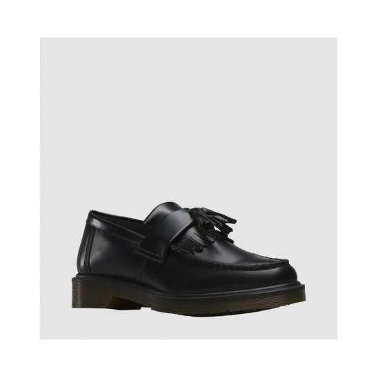 [DR.MARTENS] Adrian Tassle Loafer BLACK POLISHED SMOOTH