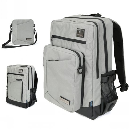 [몬스터 리퍼블릭] REVISITER MULTI BACKPACK / GRAY