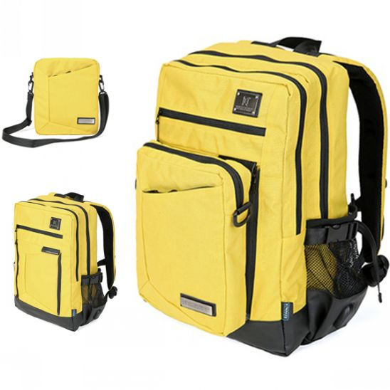 [몬스터 리퍼블릭] REVISITER MULTI BACKPACK / YELLOW