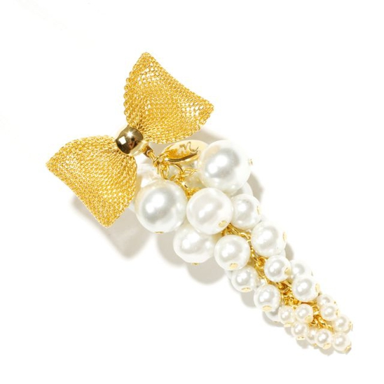 [모드곤] Pearls Grape Brooch