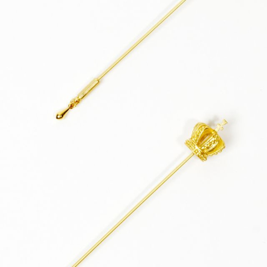 [모드곤] Gold crown boutonnier