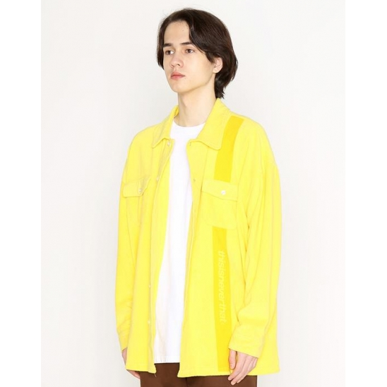 디스이즈네버댓 SP Terry Shirt_Yellow
