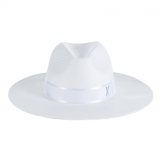 [바잘 모자 파나마햇] Wide brim panama hat white