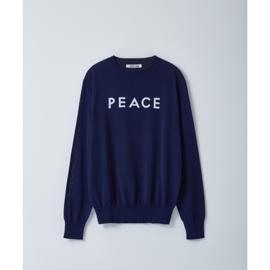 SEMI LOOSE FIT LETTERING KNIT