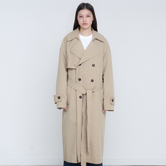OVER TRENCH COAT - BE