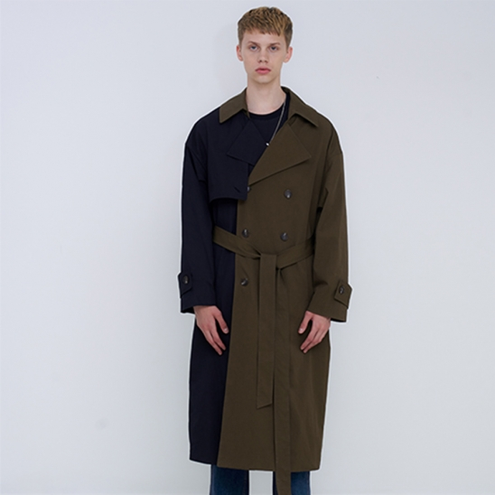 OVER TRENCH COAT - MIX