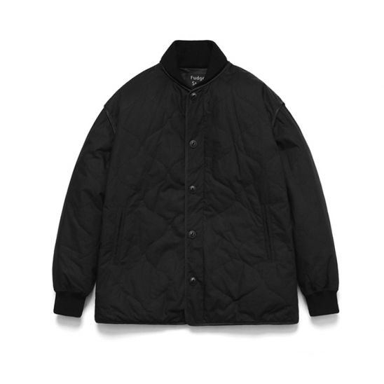 Quilting Stadium Jacket_Black