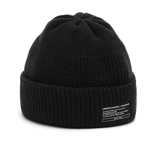 BEANIE / MONK FIT / BLACK