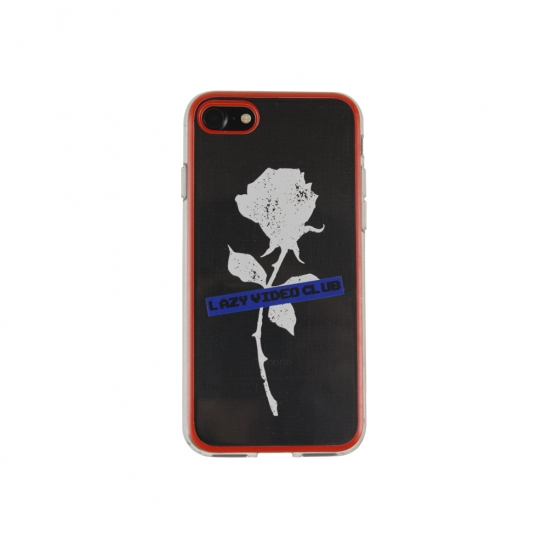 ROSE LAZY VIDEO CLUB IPHONE CASE_RED