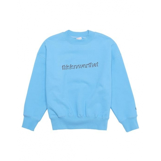 SD-Logo Flock Crew _ Sky Blue / 스웻셔츠 맨투맨